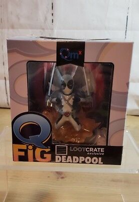 Q Fig Deadpool X-Force LootCrate Exclusive figure collectible