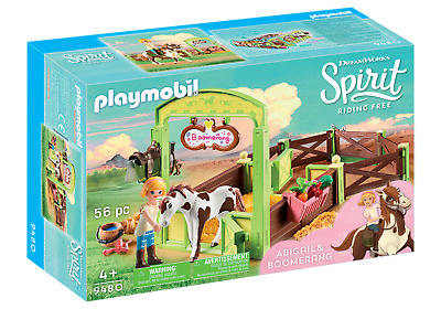 "PLAYMOBIL® Spirit Riding Free 9480 Pferdebox ""Abigail & Boomerang"""