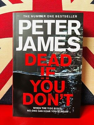 Dead If You Don't by Peter James (Paperback 2018) Roy Grace Series Book 14. New