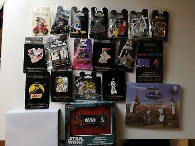 Disney Pin Lot 19 Pins