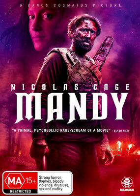 Mandy  - DVD - NEW Region 4