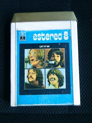 Beatles  Spain 8 Tracks Pistas Let It Be Spain Emi Odeon Spanish Rare
