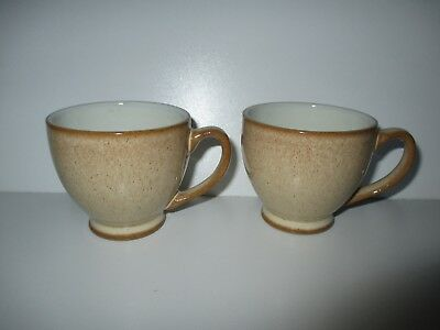 Denby Luxor Espresso Coffee Cups x 2 New First Quality Excellent Condition