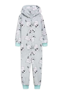 NEXT Pyjamas Girls 5 6 Years Pjs Raccoon 2 Pack or Jumpsuit All In One BNWT