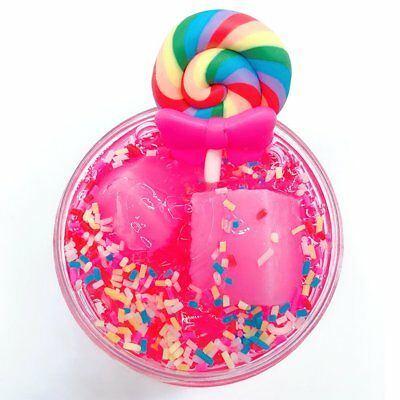 Fairy Floss Cloud Slime Reduced Pressure Mud Stress Relief Kids Clay Toy~#YSE