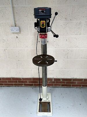 Floor Standing Pillar Drill / Press Drill, with vice - Axminster ND16F
