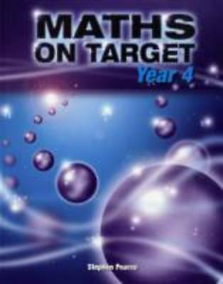 Maths on Target: Year 4 by Stephen Pearce (Paperback, 2008)