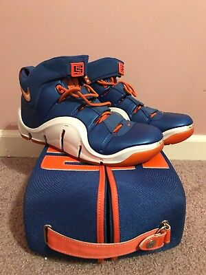 45e36145b1bf 2006 Nike Zoom Lebron 4 Iv Birthday Sz 11 314647-511 Vnds Orange With Box