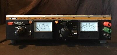 BK PRECISION  1601 REGULATED DC POWER SUPPLY As Is Parts Only Powers On