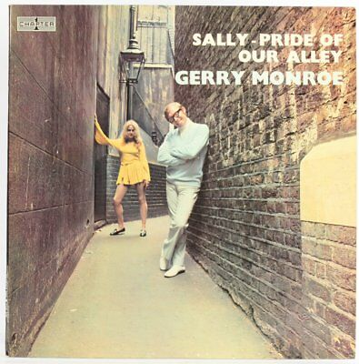 Gerry Monroe, Sally - Pride Of Our Alley  Vinyl Record *USED*