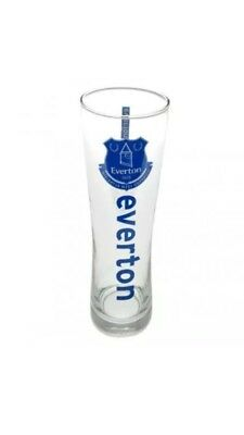 Everton FC Official Football Gift Tall Beer Pint Glass  Fathers Day