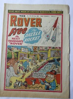 The Rover Comic No.1702 - Illustrated adventure stories and cartoons - 1958