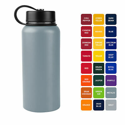 Tahoe Trails - 32 Oz. Double Wall Vacuum Insulated Stainless Steel Water Bottle