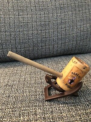 Popeye Pipe W/ Stand