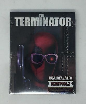 THE TERMINATOR Deadpool Photobomb Blu-Ray 2018 - Walmart Exclusive Brand New