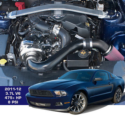 Nuovo Mustang V6 3.7L P1SC1 Procharger Supercharger Completo con Intercooler