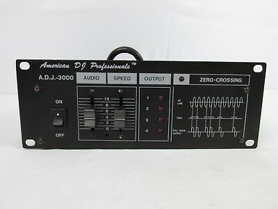 American DJ Professional ADJ-3000 Chase Controller Atmospheric Effects RARE FIND