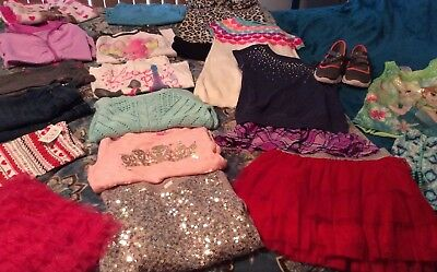 Little Girls 7/8, Super Cute Lot Of Everything The Little Girl Needs!