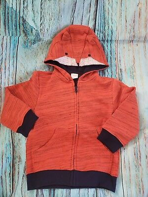 NEW with tags Gymboree Hoodie For Boy 2 T FOX