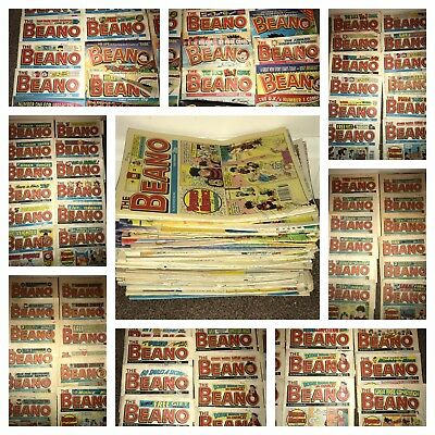 The Beano Comics  Bundle Job Lot 100 issues 1980's & 1990's Dennis the Menace