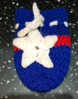 Knitted Baby Bottle Cover