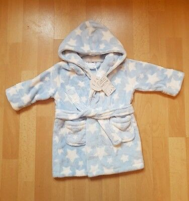 Baby Boy Dressing Gown 6-9 months / 9-12 months BRAND NEW WITH TAGS