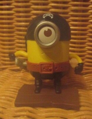 Mc Donalds Happy Meal  Figur 2015 Minions  Flipping Pirat