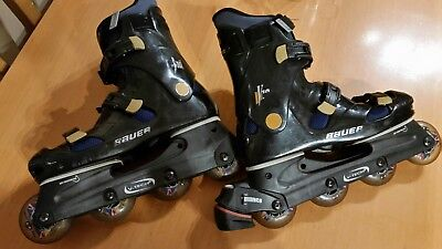 Bauer Inlineskates/Rollerblades, Kryptonics wheels Size UK 9
