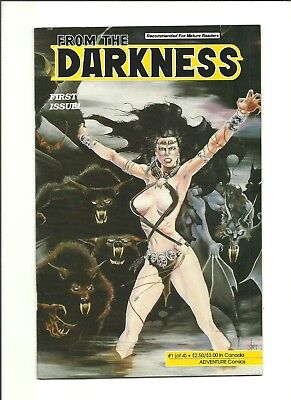 From the Darkness #1 Jim Balent low print indy horror 1991