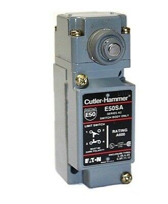 Cutler Hammer E50SA Series A2 Limit Switch Body with E50DS1 Operating Head [A#]