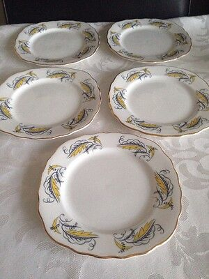 Vintage Royal Vale Side Plates X 5