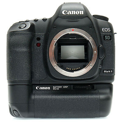 Canon EOS 5D Mark II Camera Body with battery grip