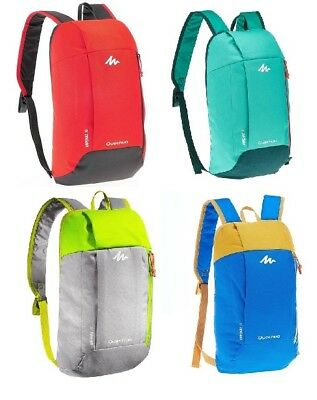 New Quechua 10L Rucksack Backpack Small Light Walking Hiking Cycle Travel Bag