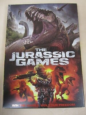 The Jurassic Games, Dvd, 2018