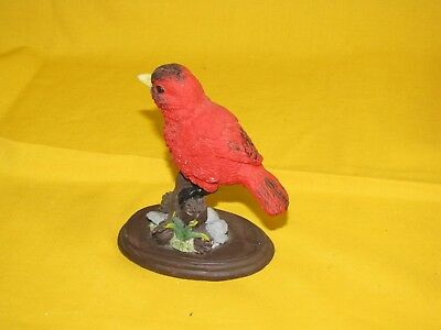 Cardinal Figurine Cardinal Statue Bird Decor Decorative Collectible