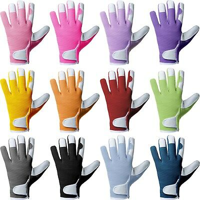 High Quality Leather Work Tig Gloves SIZE M