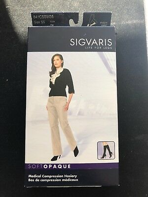 Sigvaris Medical Compression Hosiery Size:SS Color: Nude 15-20mmHg