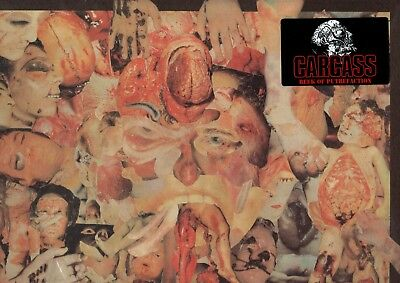 Carcass - Reek Of Putrefaction Lp (1988) Uk Grindcore / Repress / Splatter Vinyl