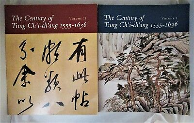 THE CENTURY OF TUNG CH'I-CH'ANG 1555-1636 - 1992 [2 Vols] Chinese Painting Cat