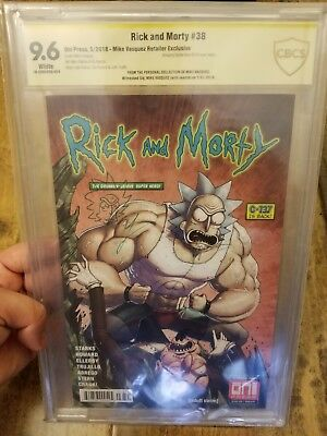 Rick And Morty #38 Variant - Mike Vasquez ASM #316 Personal Collection