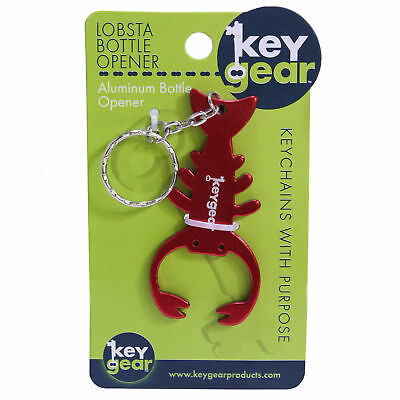ULTIMATE SURVIVAL TECHNOLOGIES 50-KEY0083-04  Lobsta Bottle Opener, Red