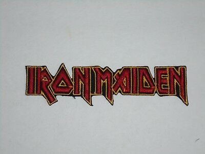 Iron Maiden Iron On Embroidered Patch