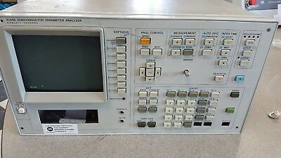 HP 4145B Semiconductor Parameter Analyzer For Parts