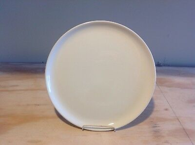 """Vintage RUSSEL WRIGHT White 10"""" Dinner Plate"""