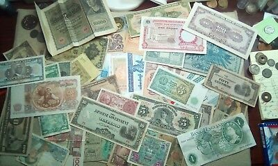 Foreign Currency Lot (54 Notes)