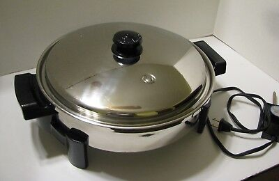 Electric Skillet - Saladmaster - Stainless Steel - #7256