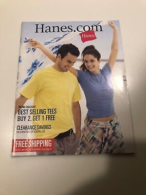 Hanes Clothing Catalog From Spring 2008
