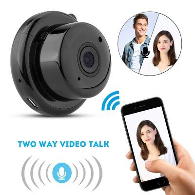 Mini WIFI 720P HD Security Camera Motion Detector Video Recorder Night Vision