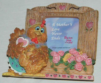 """1999 Dreamsicles Cast Art Brand Photo Frame """"A Mothers Love Never Ends"""" with Box"""