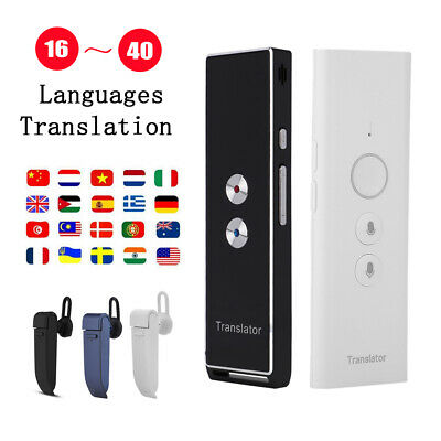 Smart Mini Voice Translator 16/30 Languages Instant Speech Translation Real Time